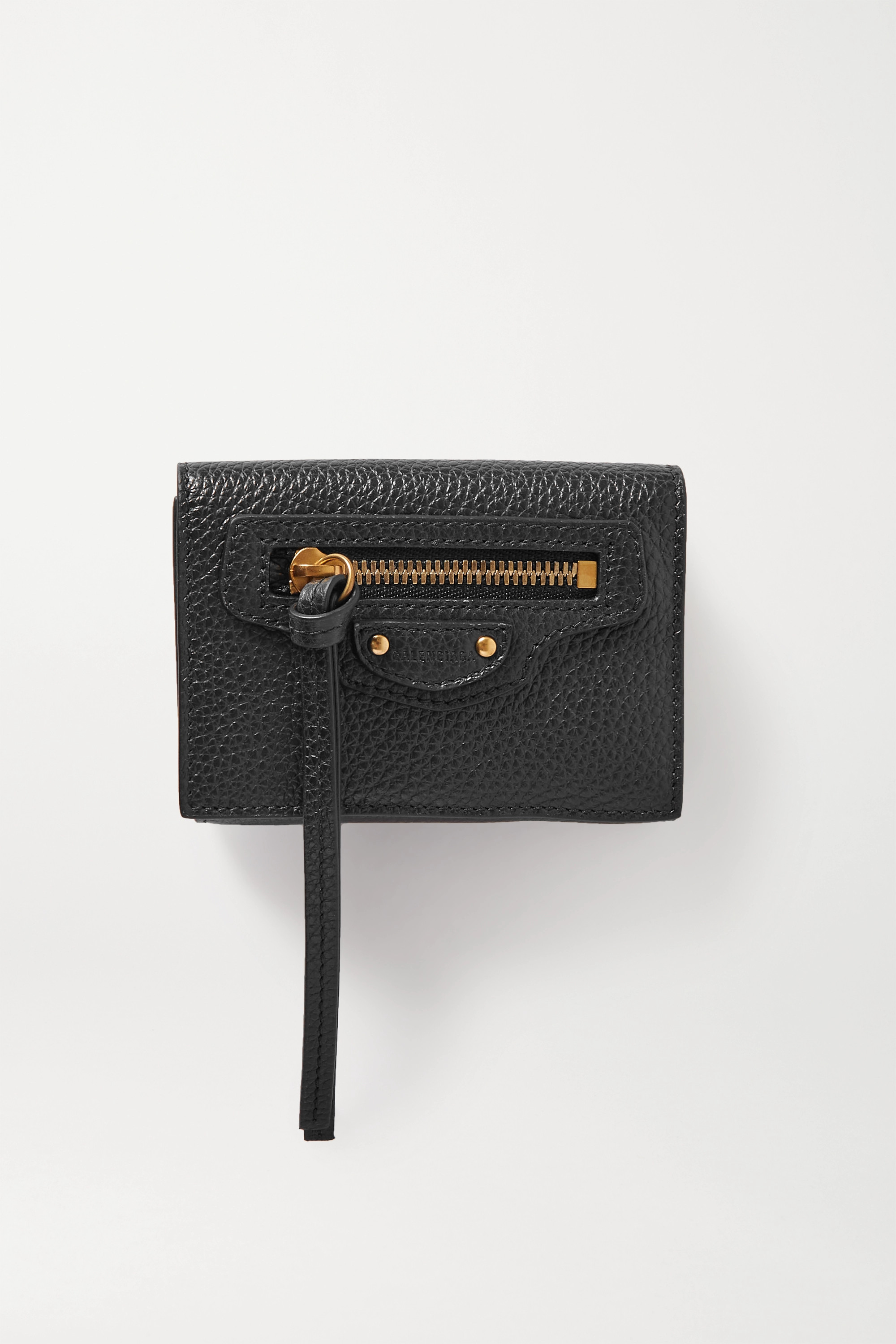Balenciaga Neo Classic City textured-leather wallet
