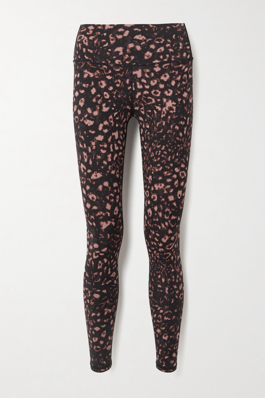 Varley - Luna leopard-print stretch leggings
