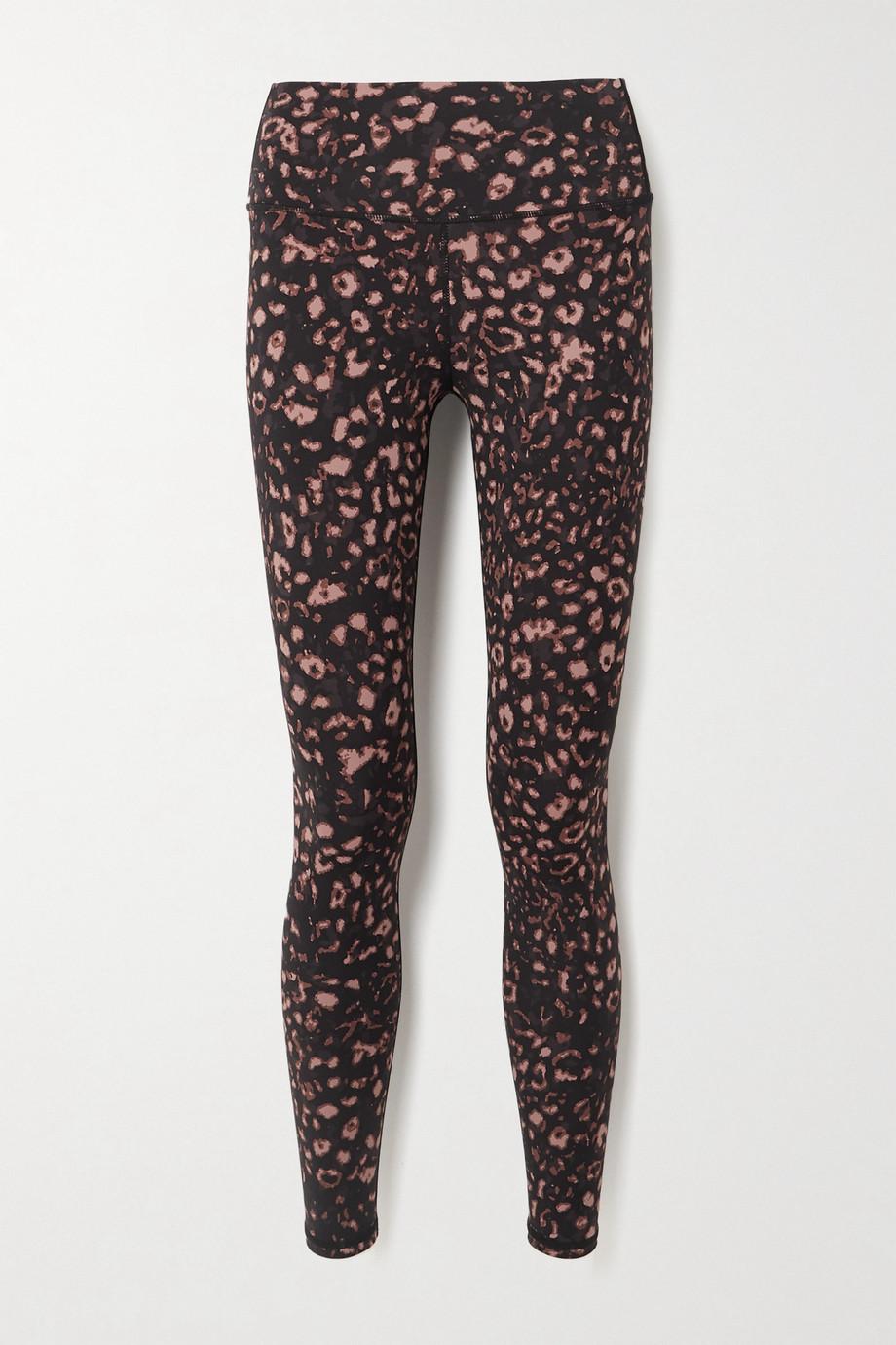 Varley Luna leopard-print stretch leggings