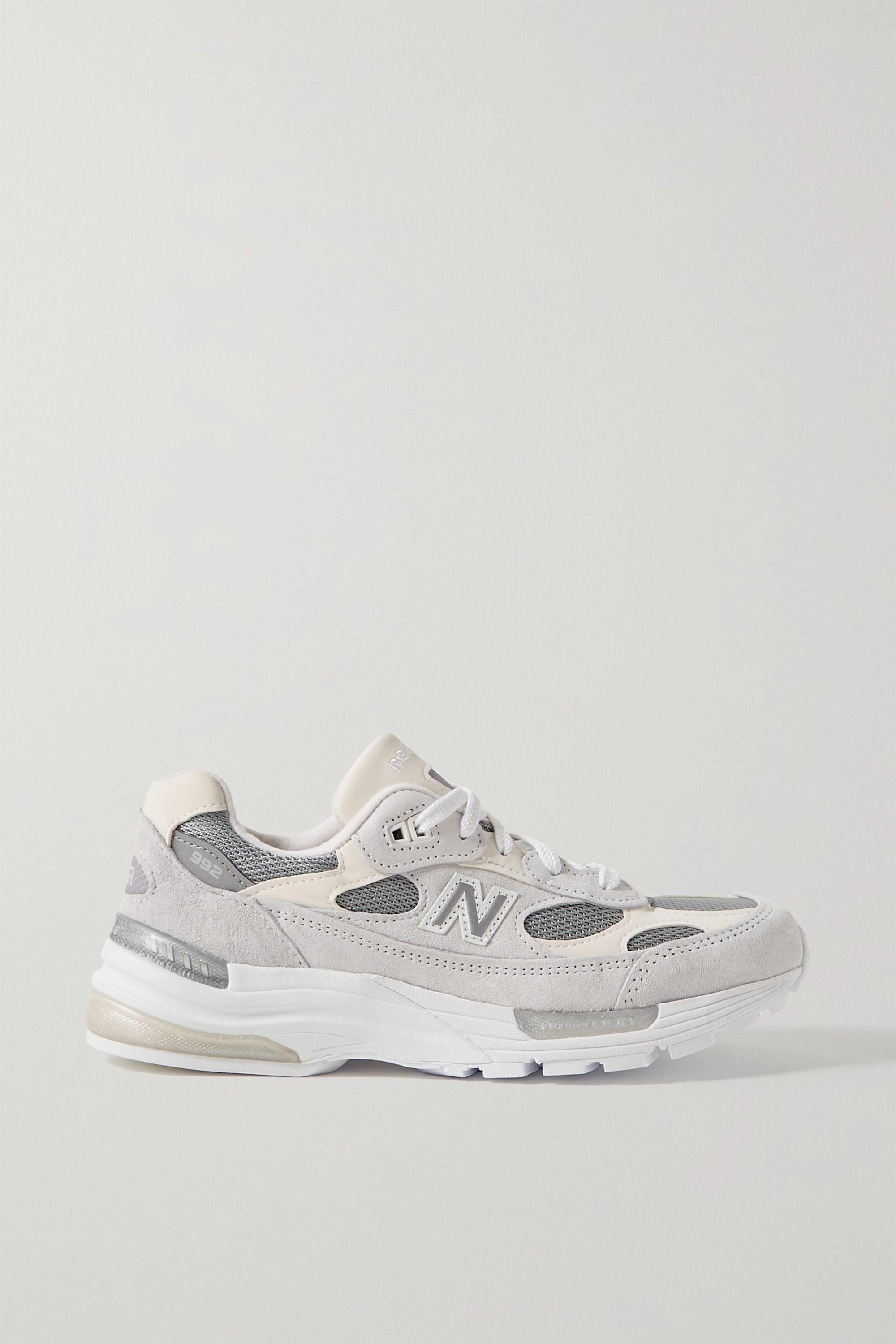 New Balance 992 绒面革网眼运动鞋