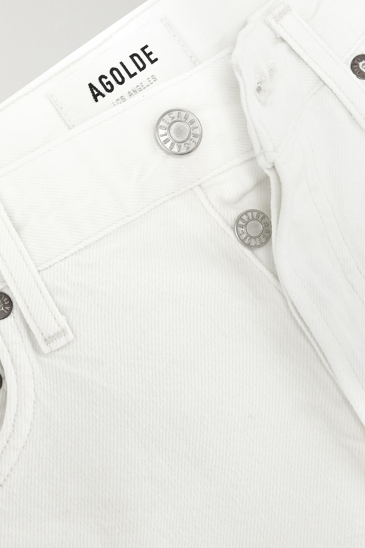 AGOLDE Parker distressed denim shorts