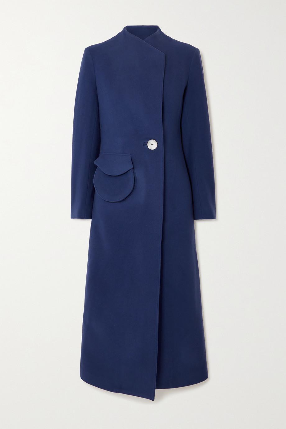 USISI SISTER Natasha wool-felt coat