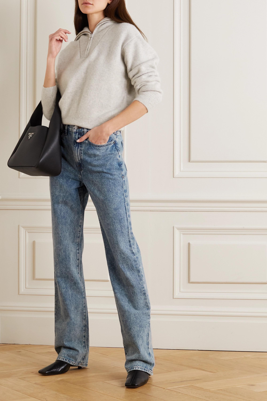 FRAME Le Jane hoch sitzende Jeans mit geradem Bein