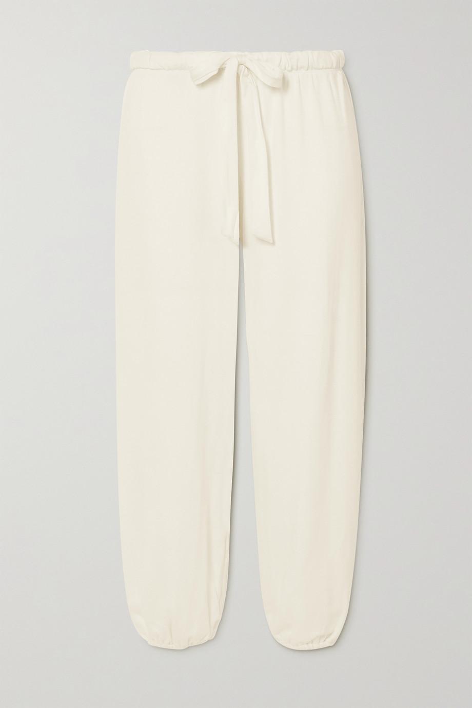 Eberjey Winter Heather cropped stretch-modal pants