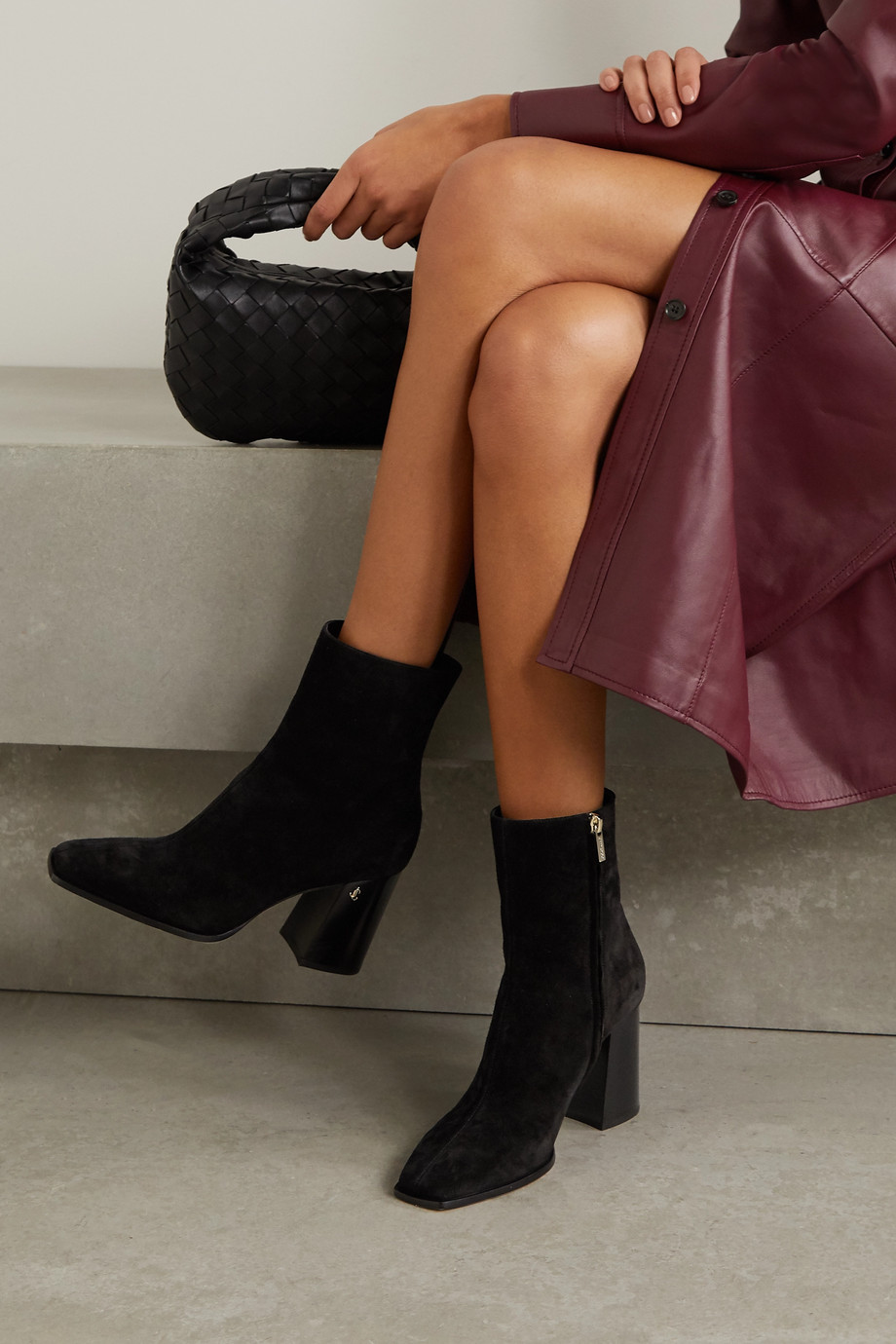Jimmy Choo Bryelle 65 suede ankle boots