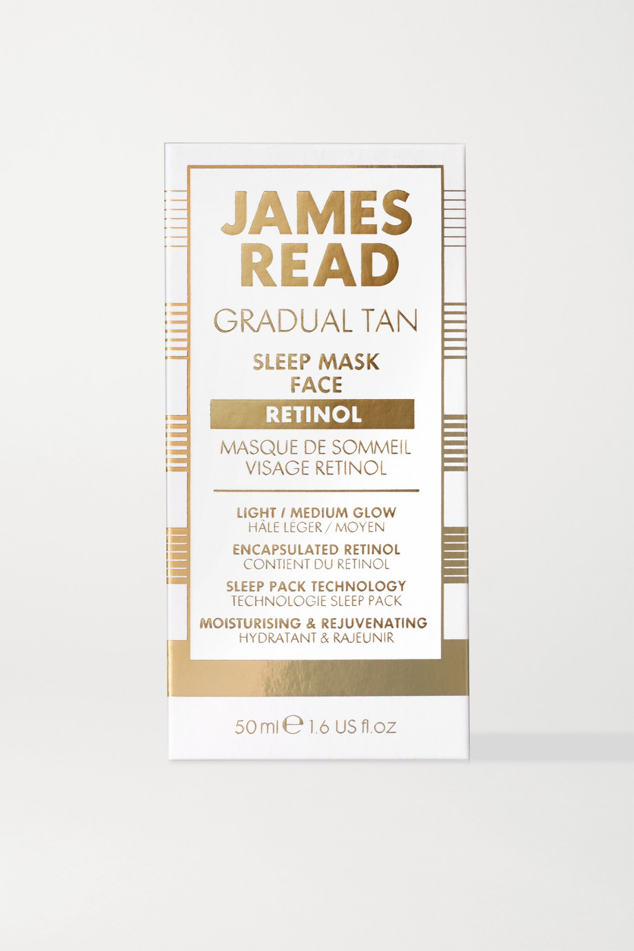 James Read Sleep Mask Face Retinol, 50ml