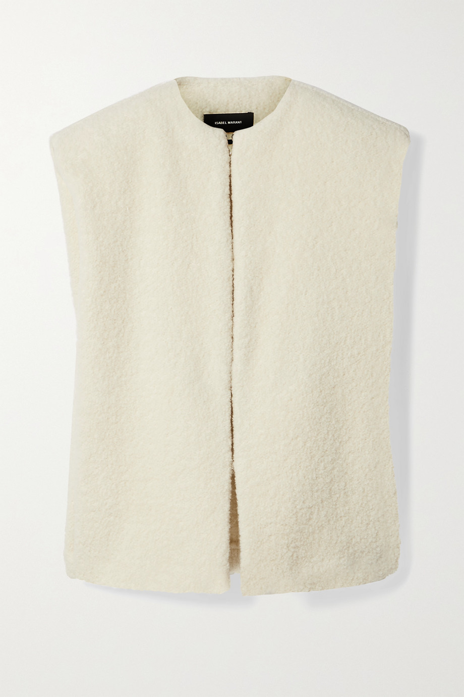 Isabel Marant Gwendia alpaca-blend bouclé vest