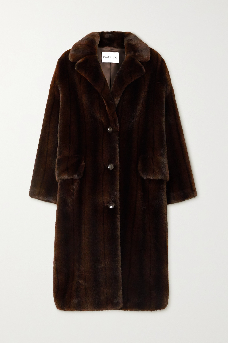 Stand Studio Theresa faux fur coat