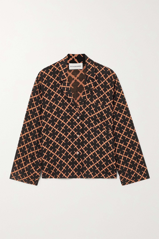 By Malene Birger Osa printed twill shirt