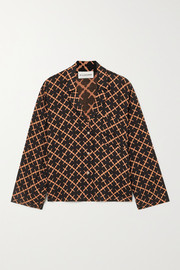 By Malene Birger Osa printed twill shirt