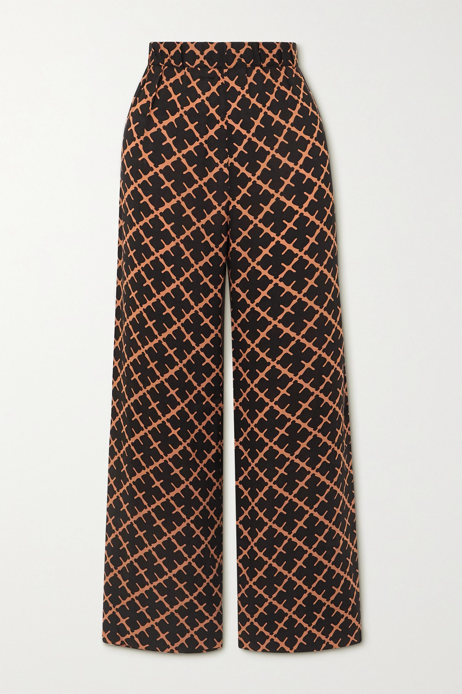 By Malene Birger Sala printed twill pants