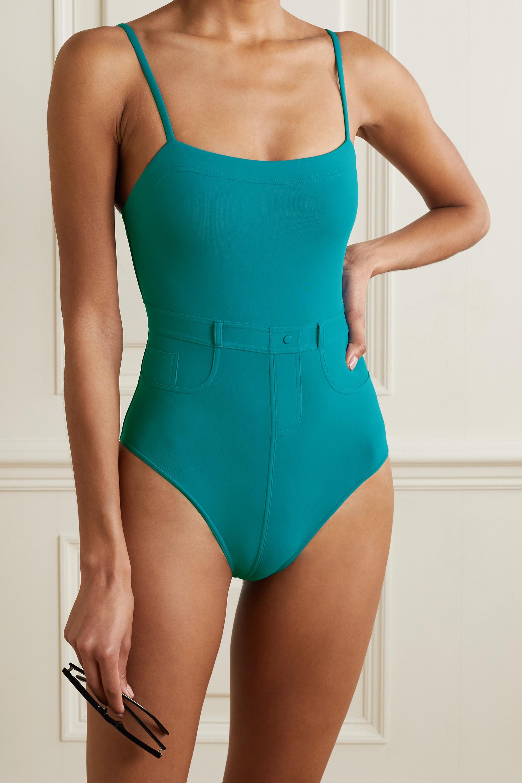 Eres Boyfriend paneled swimsuit