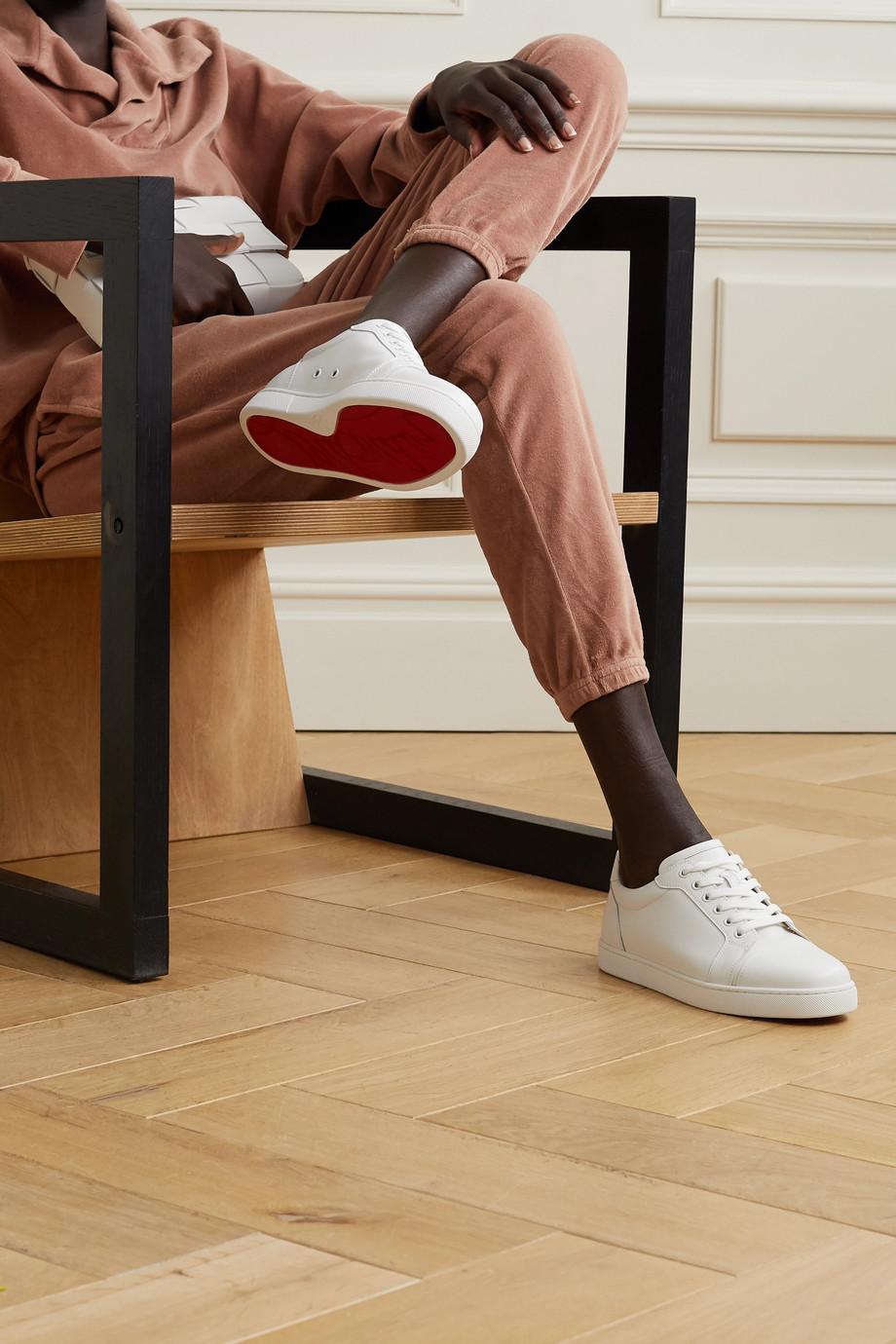 Christian Louboutin Vieira leather sneakers
