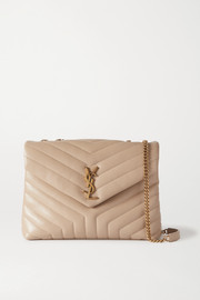 SAINT LAURENT Loulou medium quilted leather shoulder bag