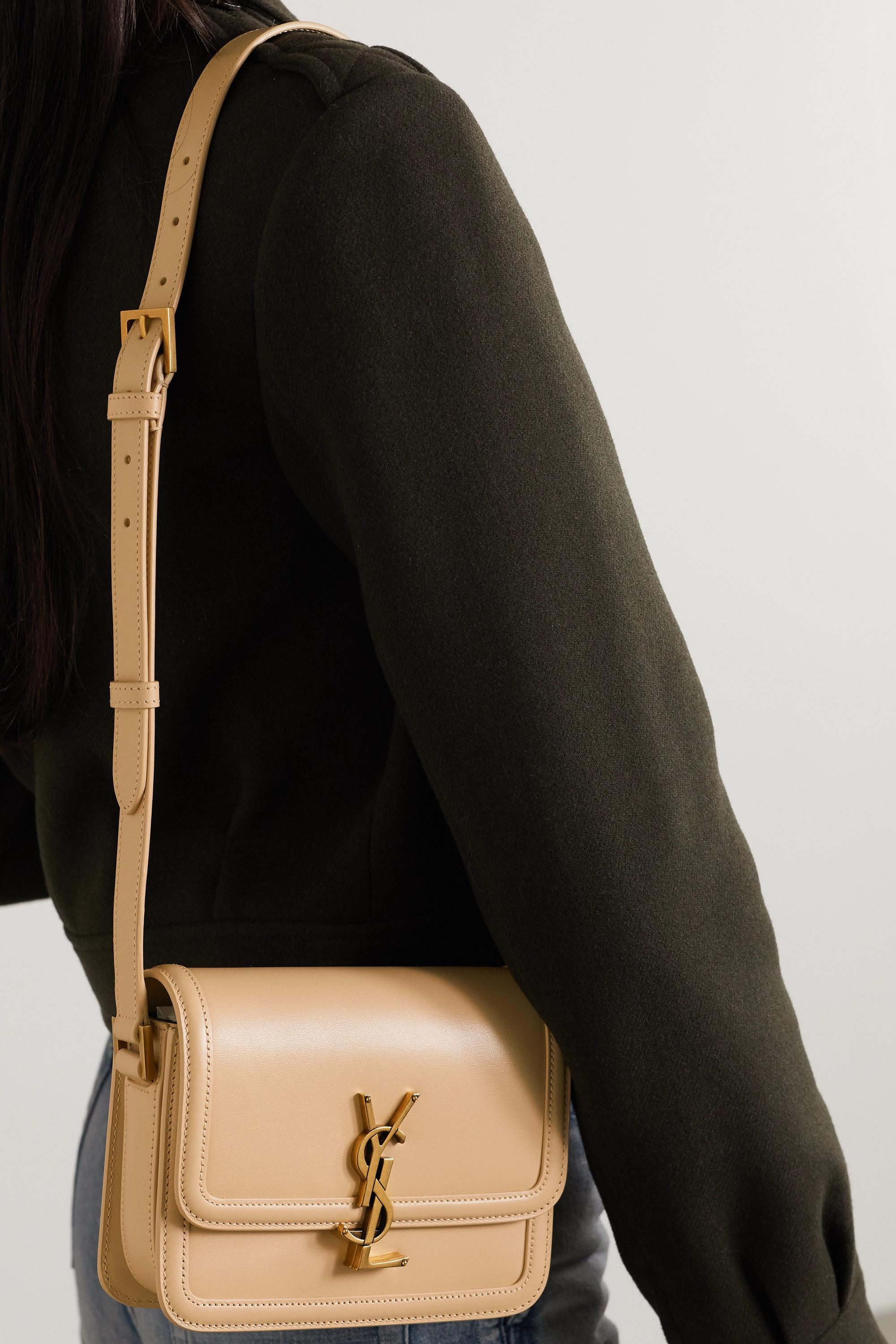 SAINT LAURENT Solferino small leather shoulder bag