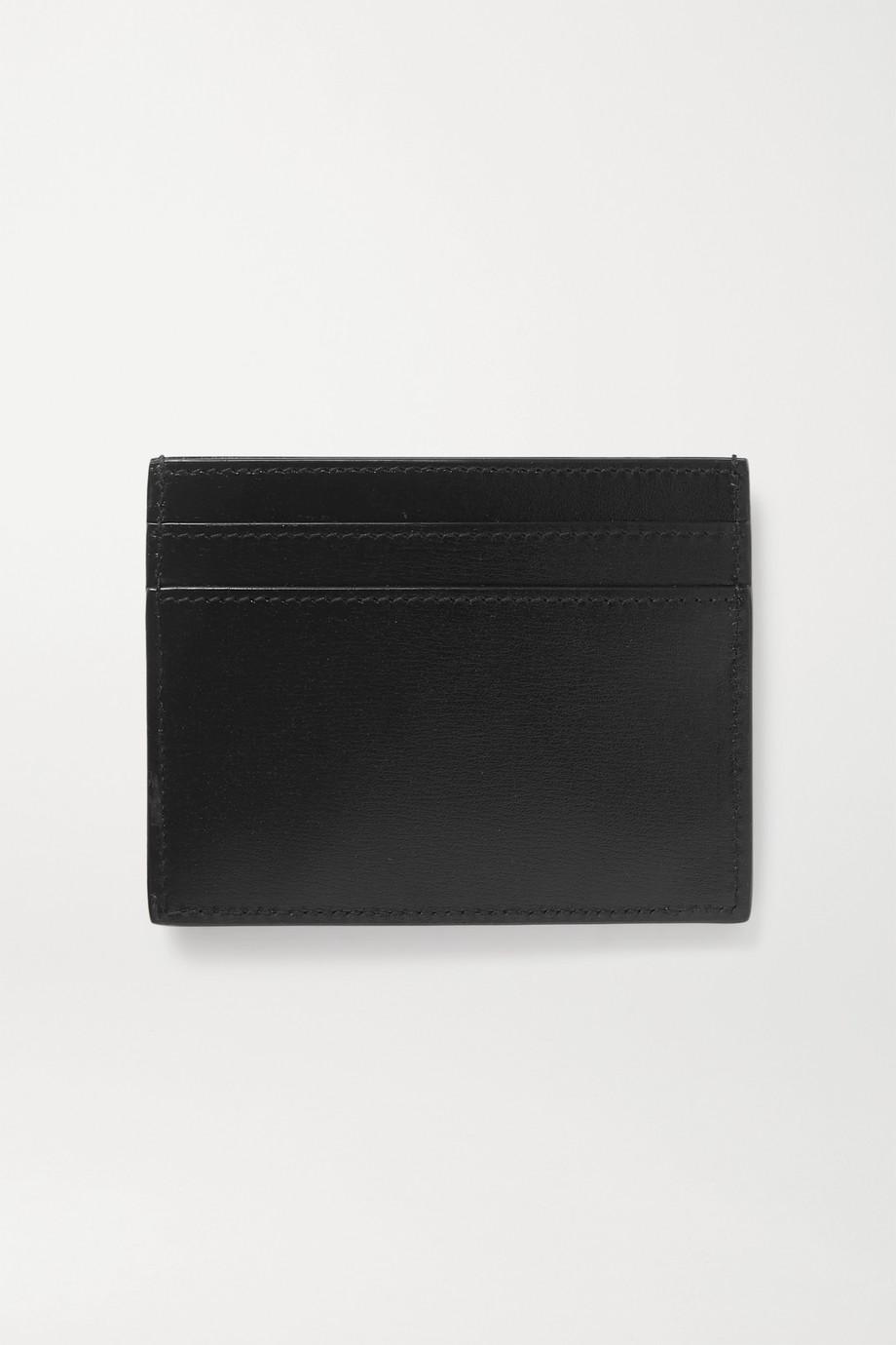 SAINT LAURENT Monogramme leather cardholder