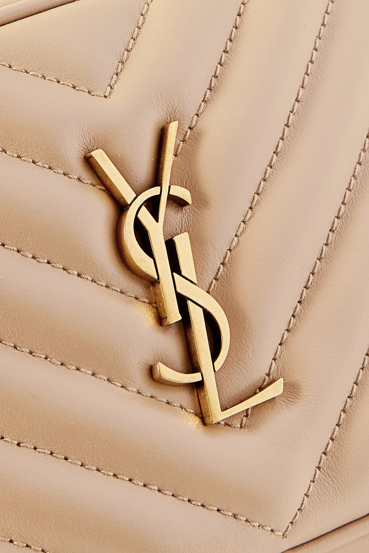 SAINT LAURENT Lou quilted leather belt bag
