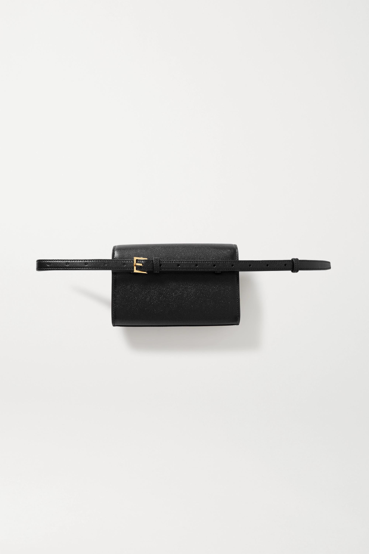 SAINT LAURENT Kate textured-leather belt bag
