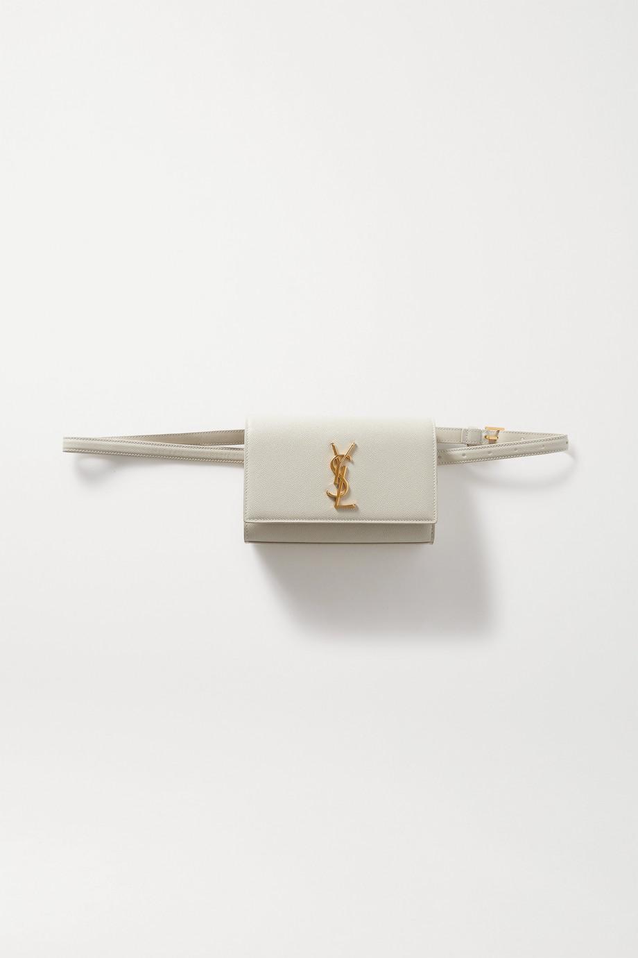SAINT LAURENT Kate Gürteltasche aus strukturiertem Leder
