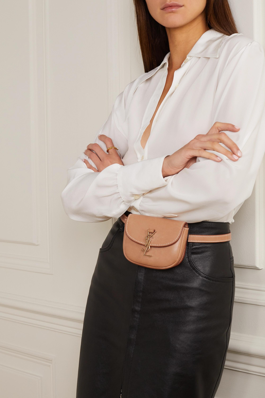 SAINT LAURENT Kaia leather belt bag