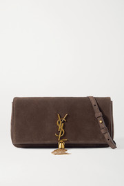 SAINT LAURENT Kate 99 suede shoulder bag