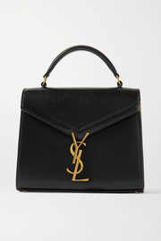 SAINT LAURENT Cassandra mini leather tote