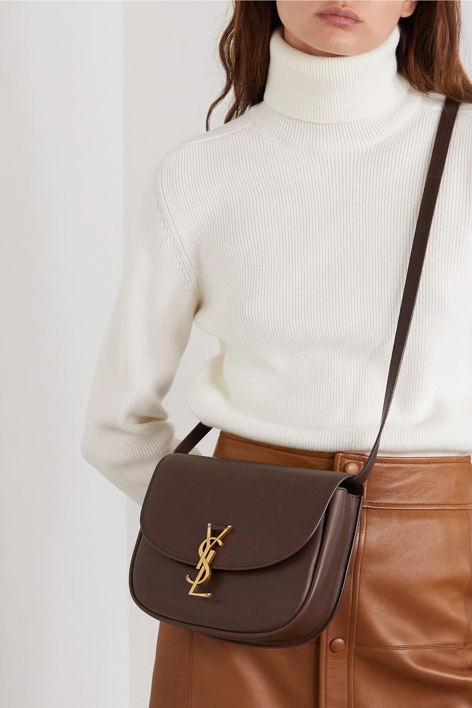 SAINT LAURENT Kaia medium leather shoulder bag