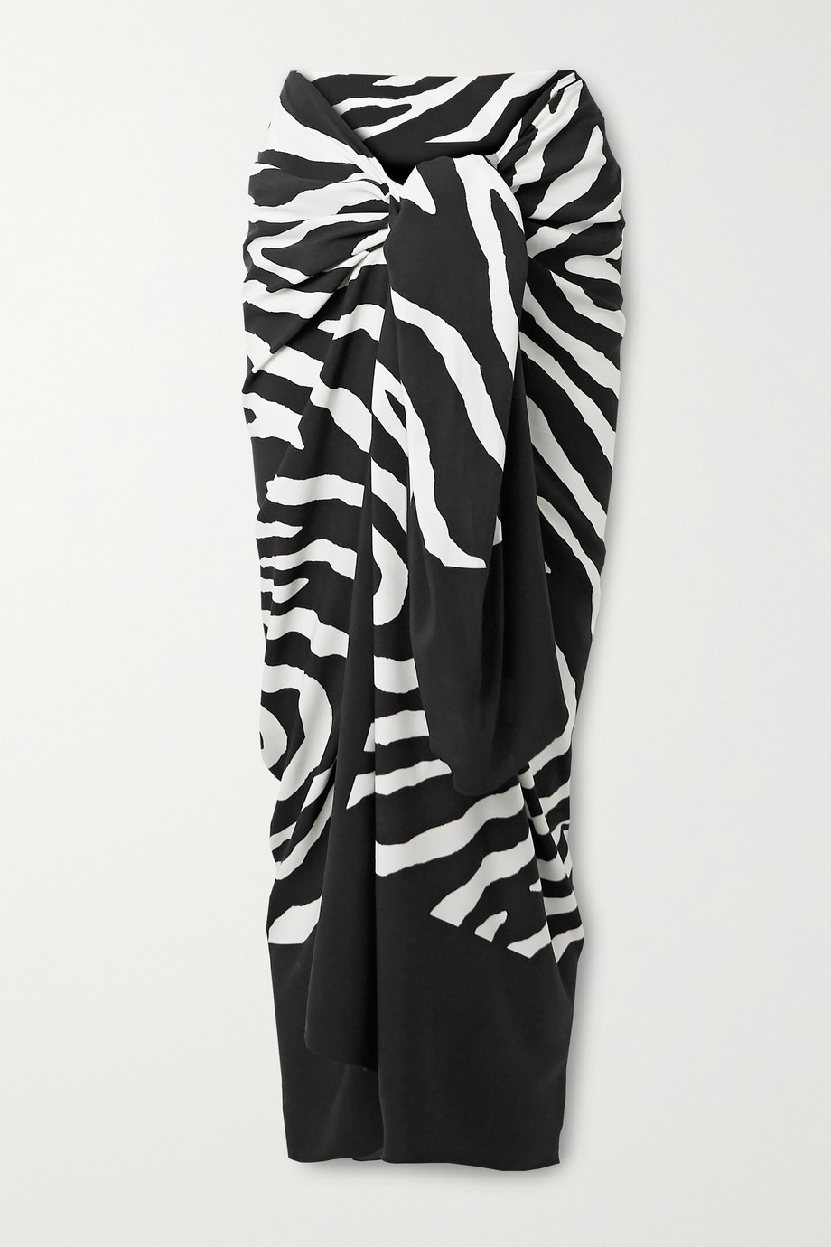 ViX Fiorella zebra-print voile pareo