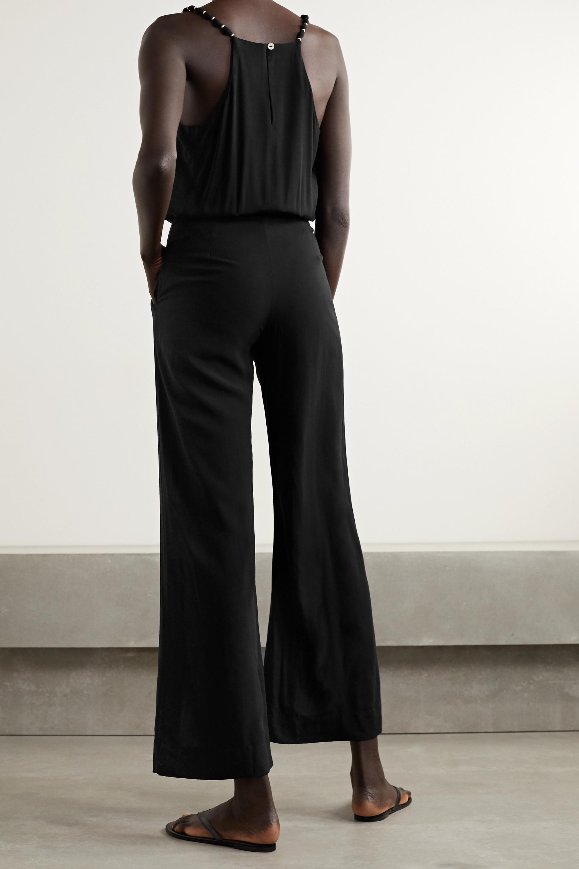 ViX Nora embellished voile jumpsuit
