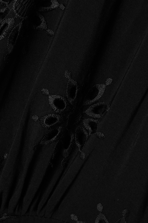 ViX Romance broderie anglaise voile dress