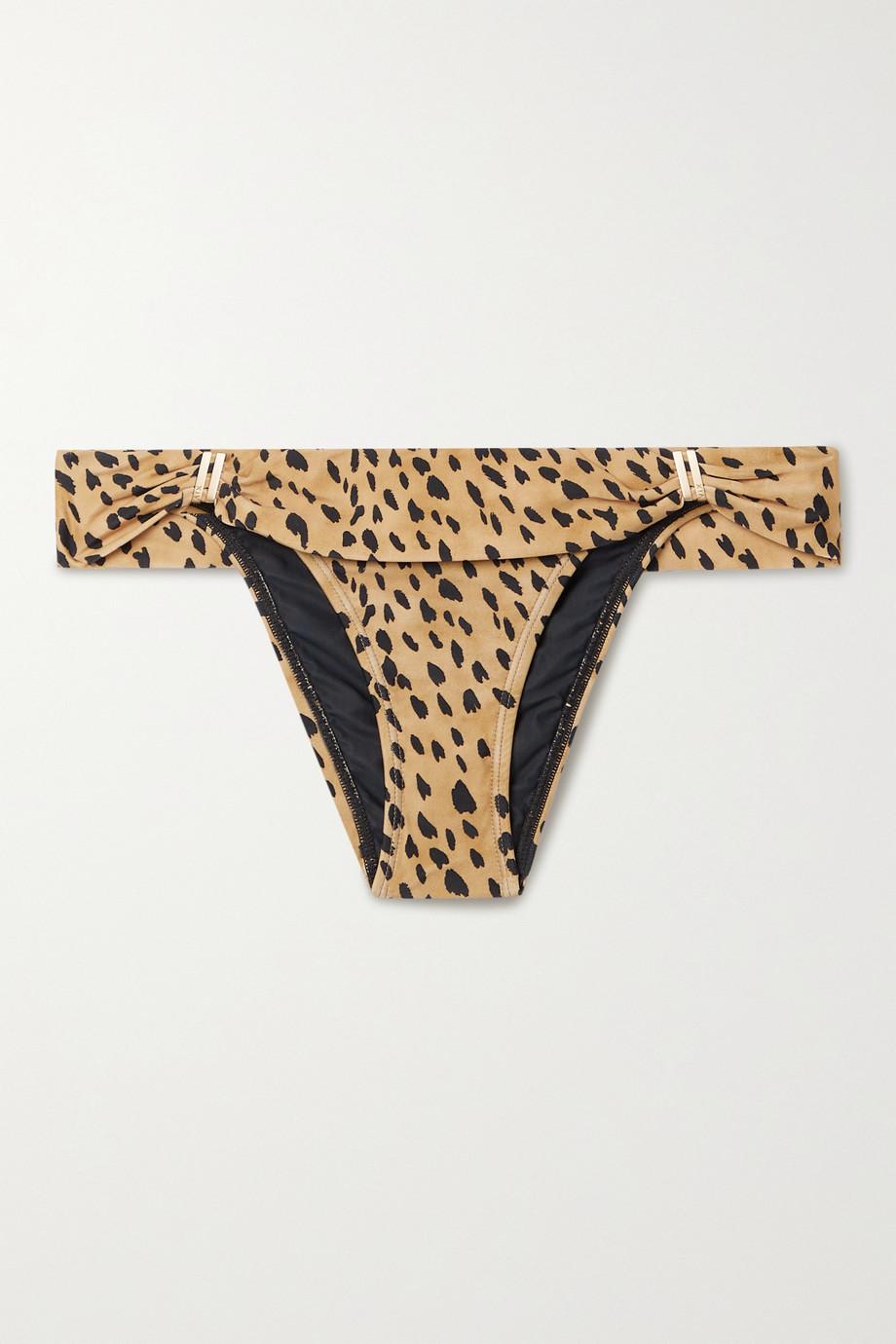 ViX Lassi Bia printed bikini briefs