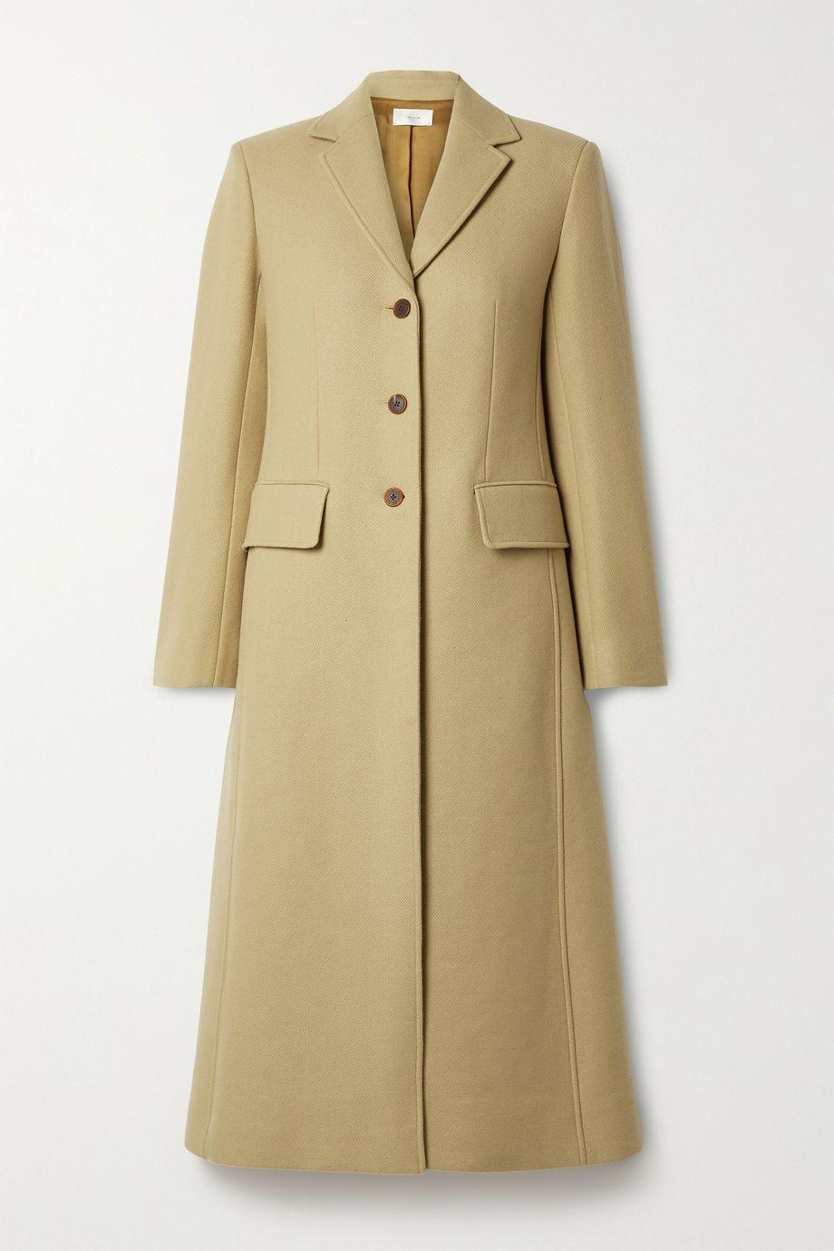 The Row Sua wool-blend twill coat