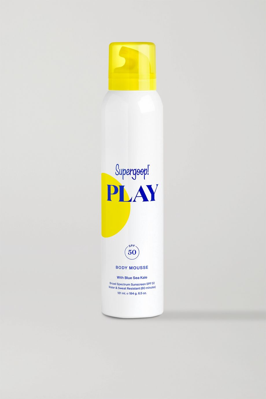Supergoop! PLAY Body Mousse SPF50, 181ml