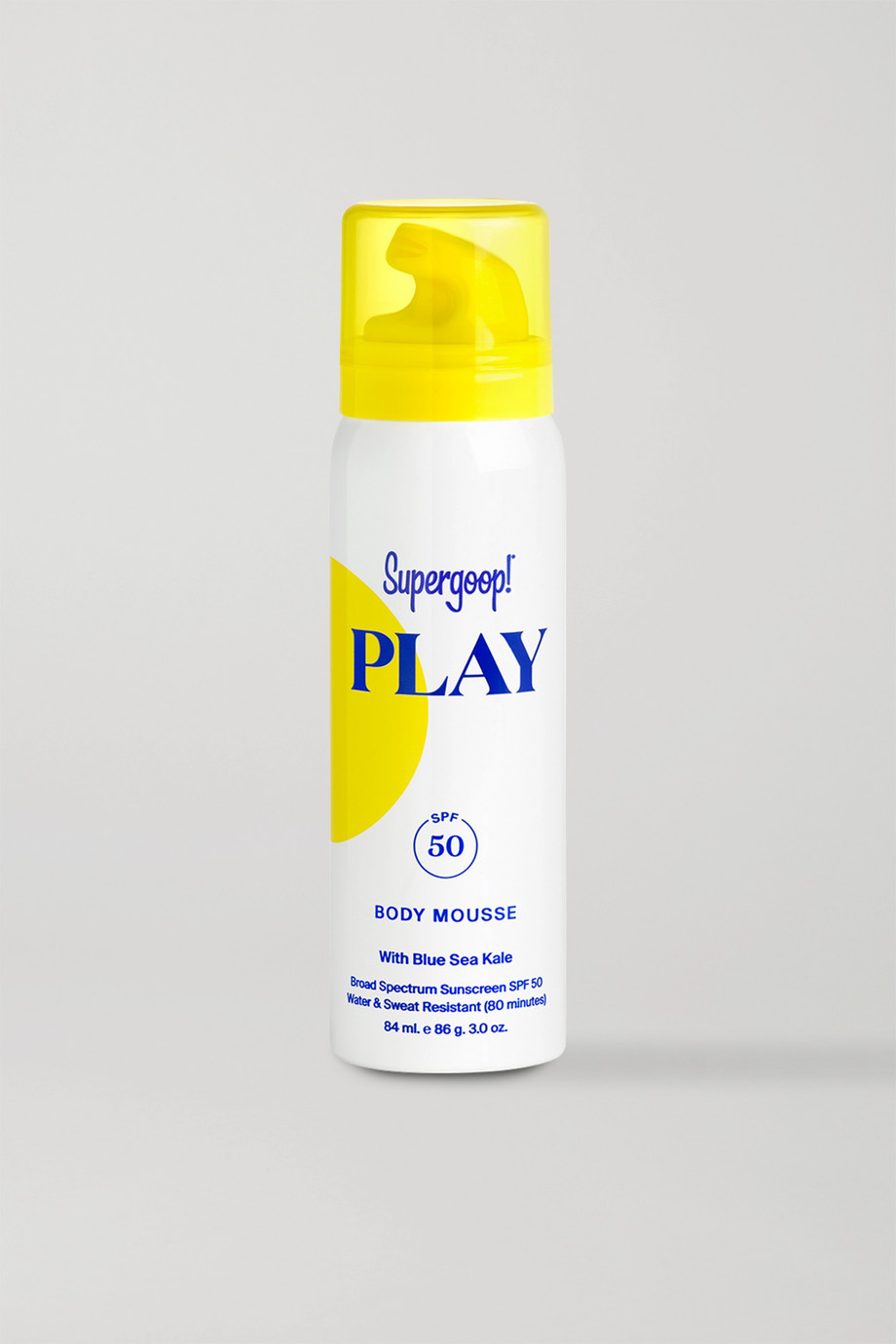 Supergoop! PLAY Body Mousse SPF50, 84ml