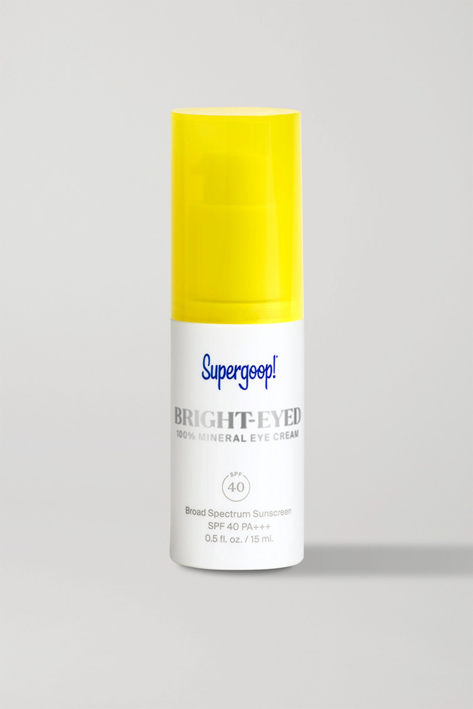 Supergoop! Bright-Eyed 100% Mineral Eye Cream SPF40, 15ml