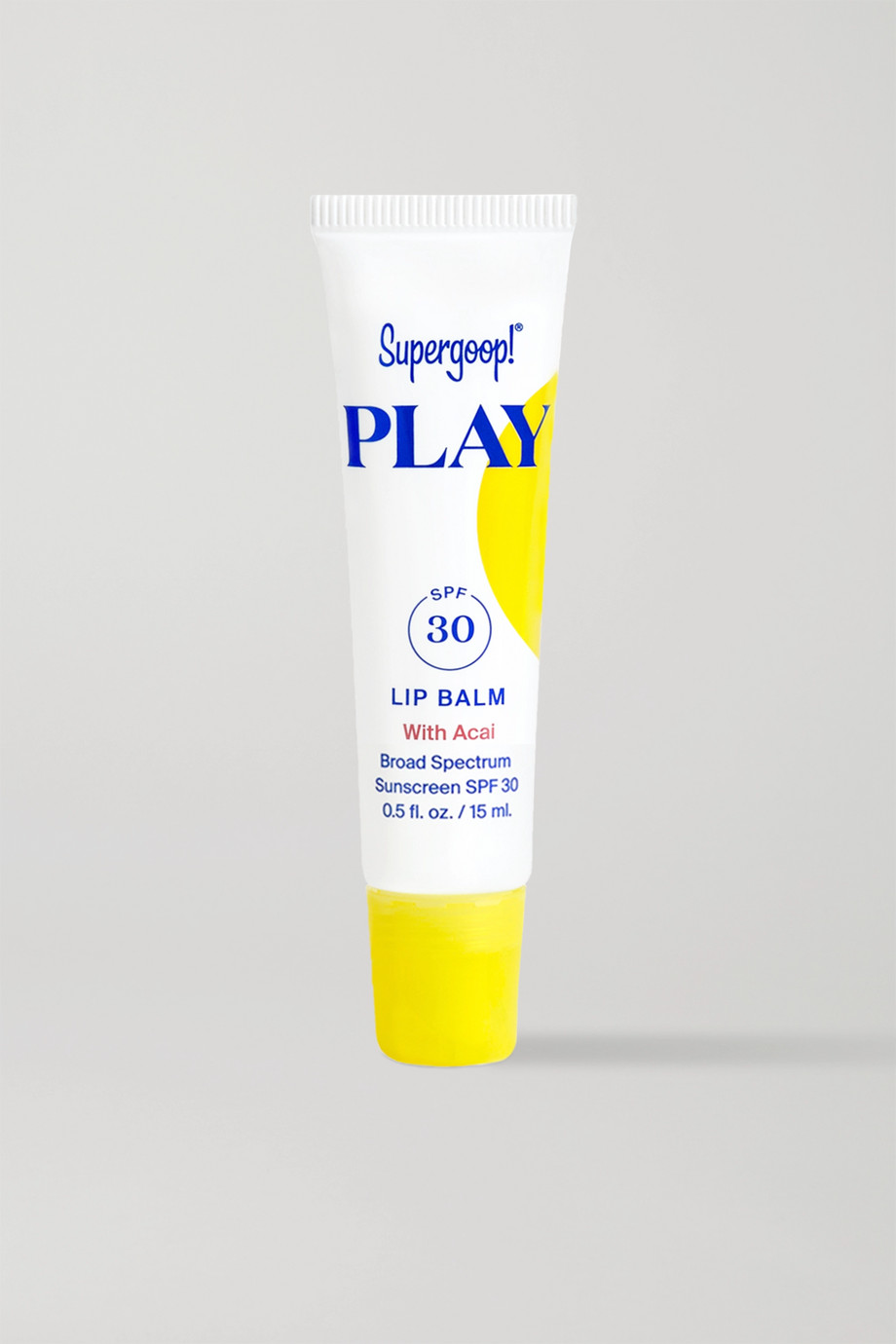 Supergoop! PLAY Lip Balm with Acai SPF30, 15ml