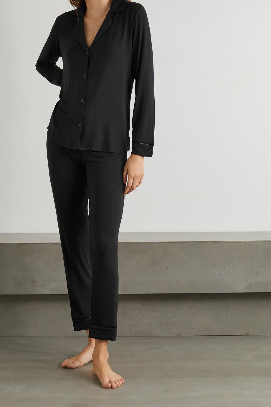 Eberjey Fiona stretch-modal jersey pajama set