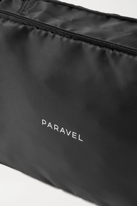Paravel Lot de deux pochettes de voyage en nylon et en TPU