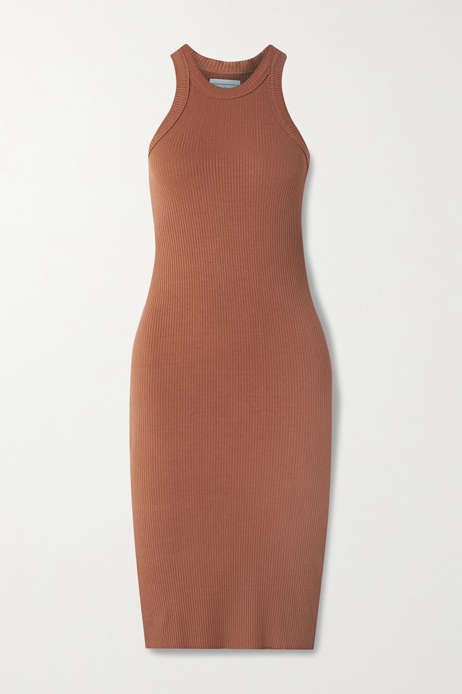 WSLY The Rivington Kleid aus geripptem Stretch-Jersey