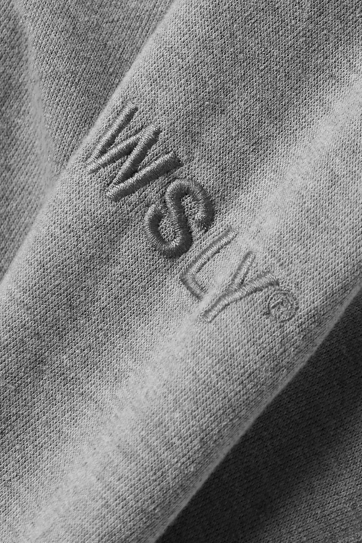 WSLY Hoodie aus Jersey aus einer Biobaumwollmischung mit Stickerei