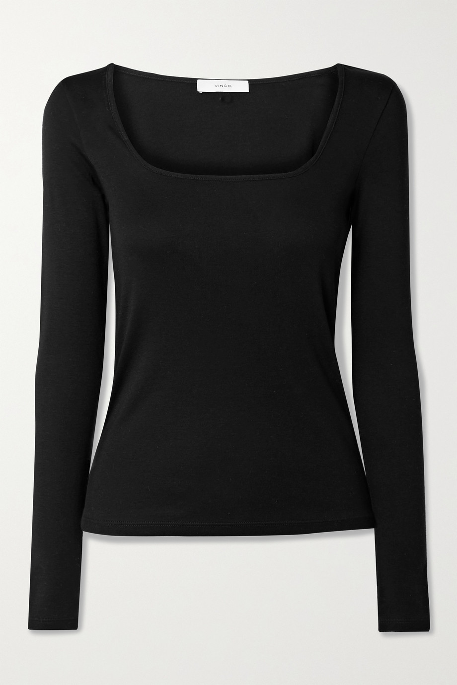 Vince Pima cotton and modal-blend jersey top