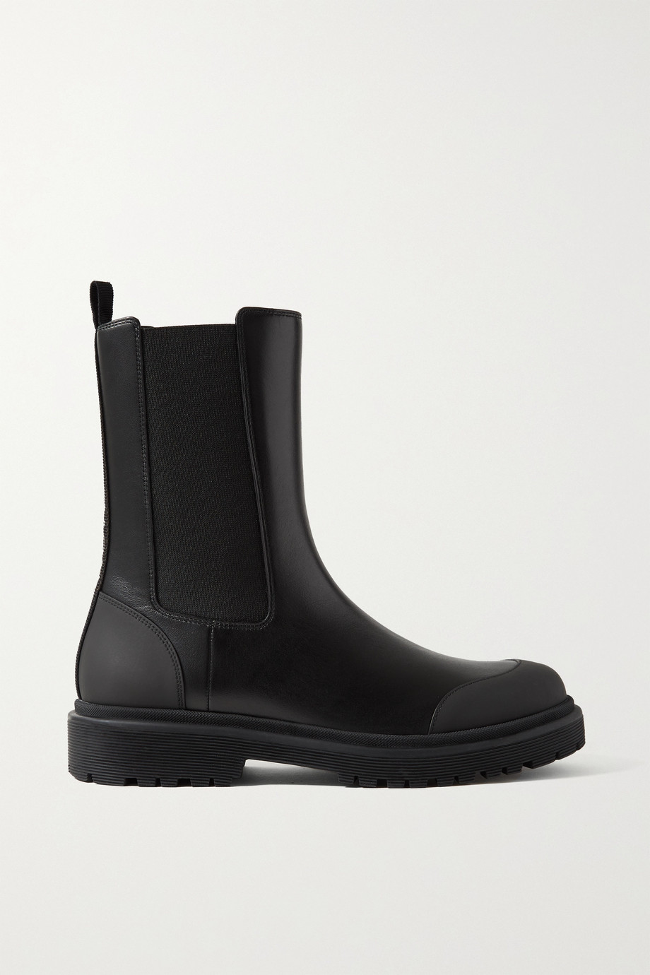 Moncler Patty leather Chelsea boots