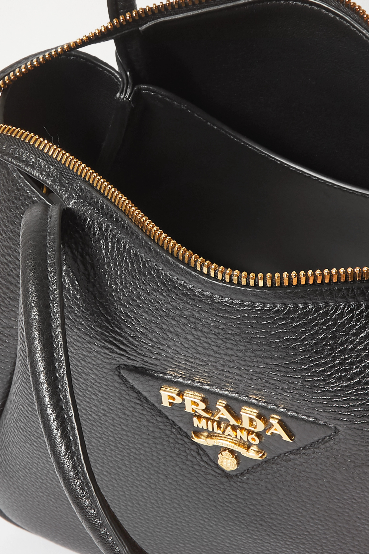 Prada Sacca small textured-leather tote