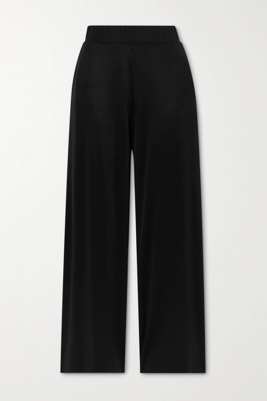 LESET Fallon stretch-satin pants