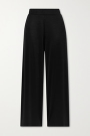 LESET Fallon stretch-satin pants