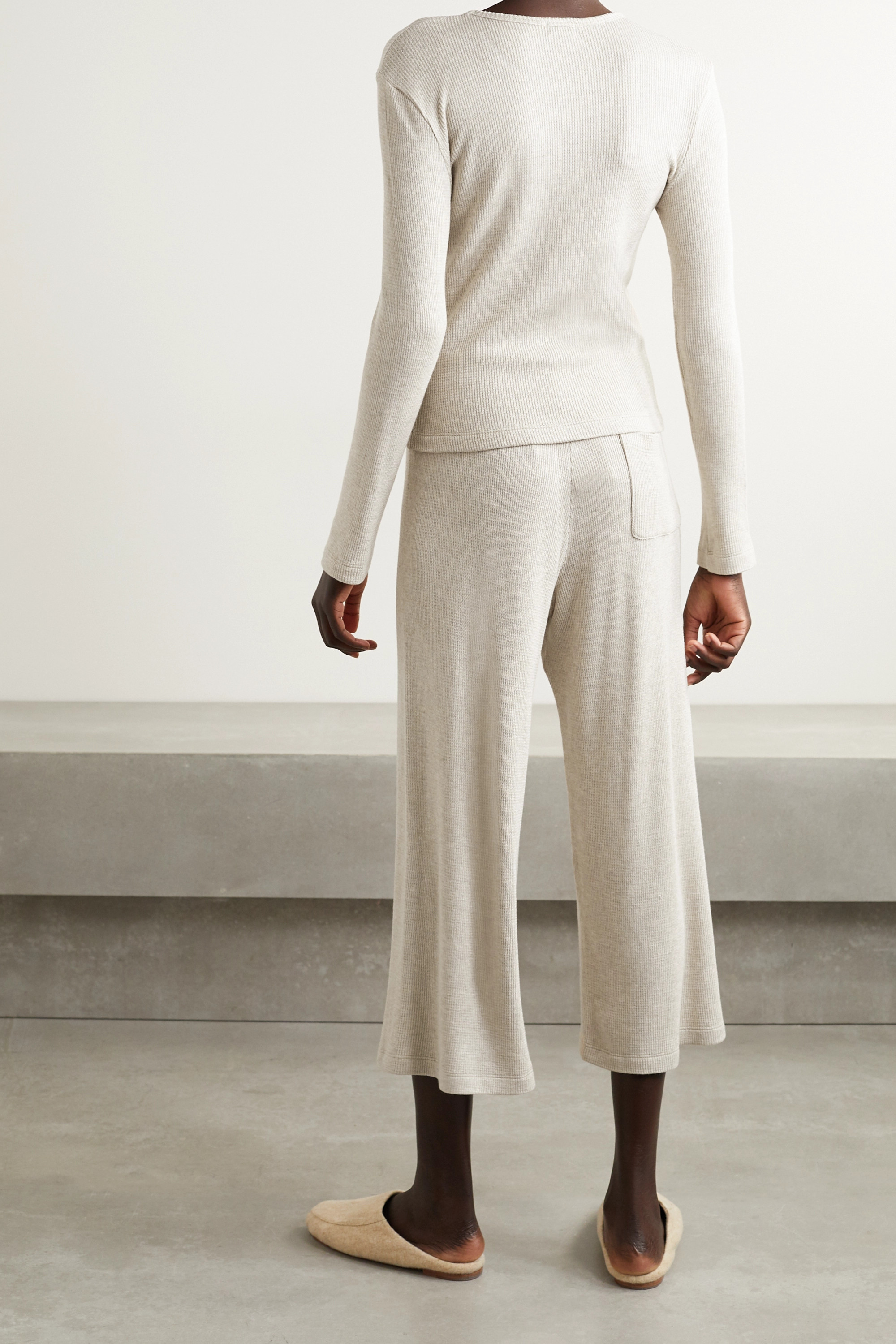 LESET Willow stretch-knit lounge set