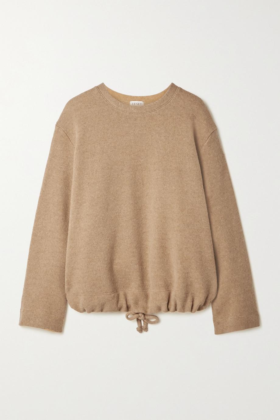 LESET Sierra wool-blend sweatshirt