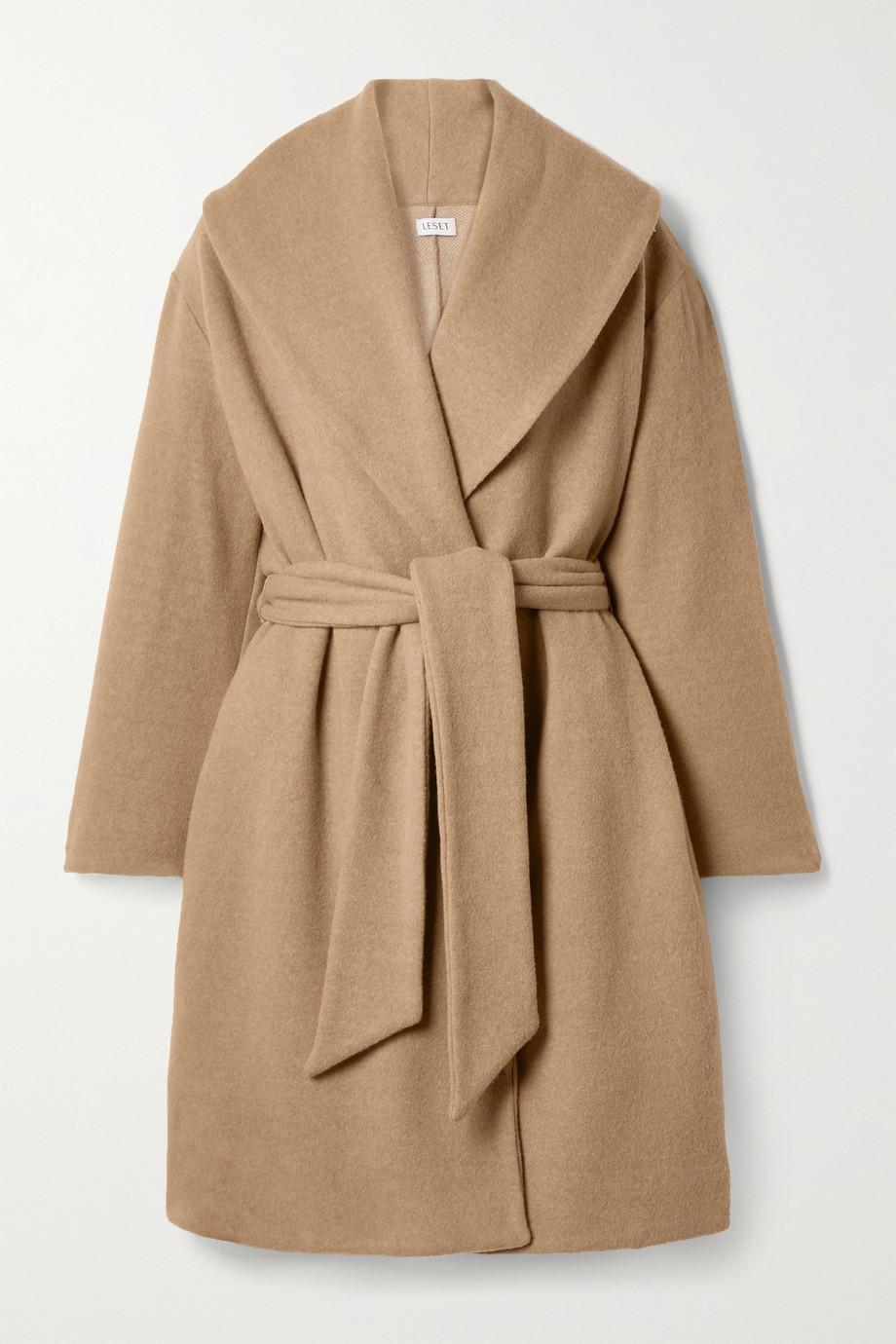 LESET Manteau en laine mélangée Sierra