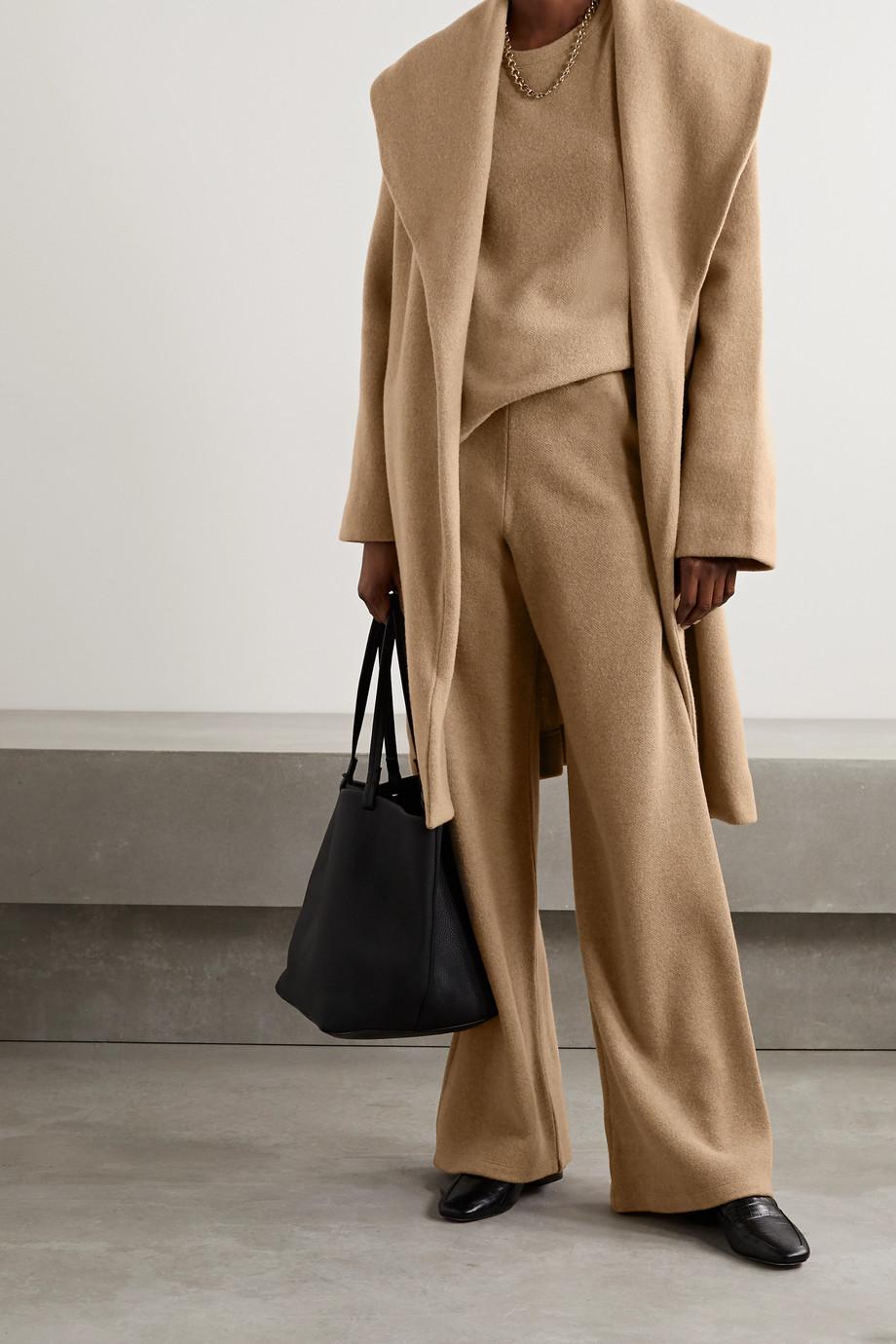 LESET Sierra wool-blend robe