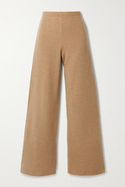 LESET Sierra wool-blend wide-leg pants